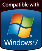 Compatible with Windows 7 Logo